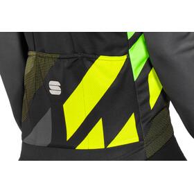 Sportful Volt Thermal LS Jersey Men black/anthracite/yellow fluo